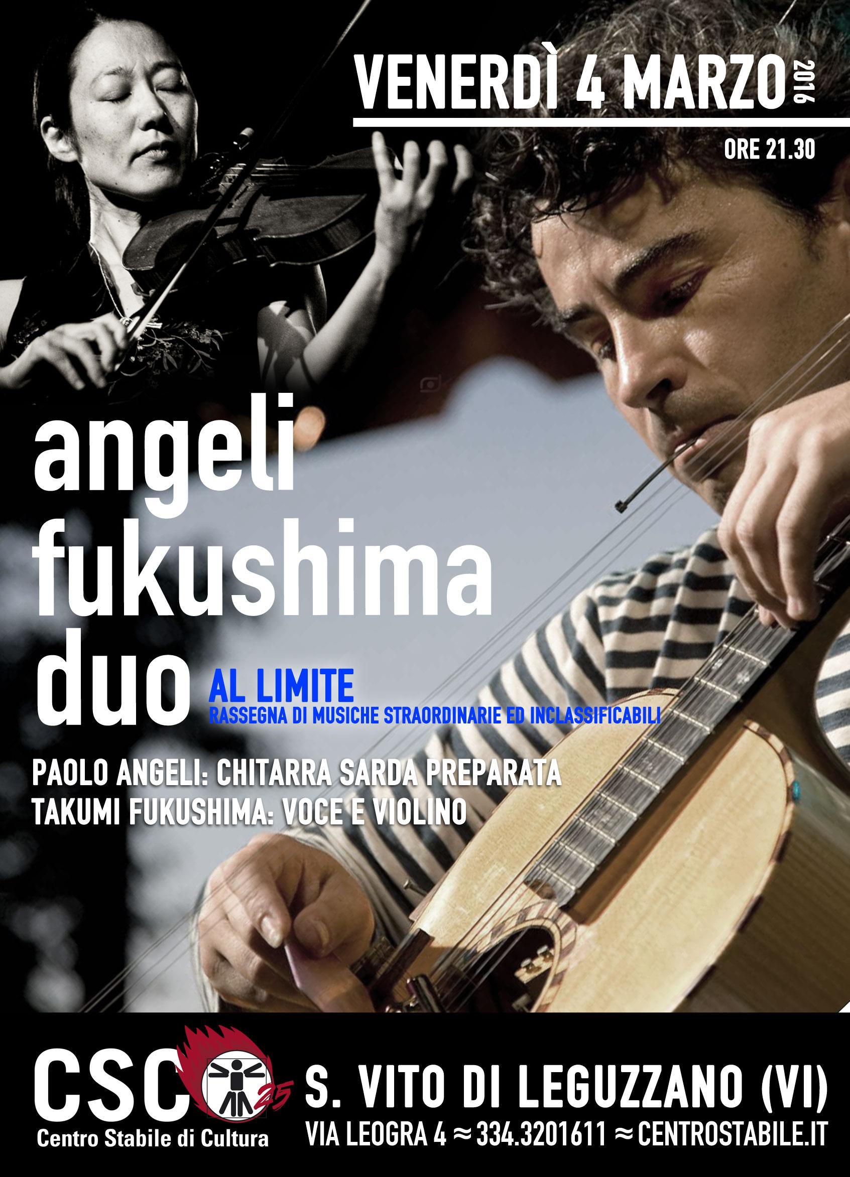 Angeli/Fukushima Duo // AL LIMITE