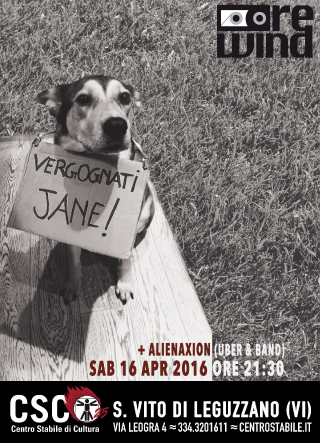 Vergognati Jane + Alienaxion // CSC REWIND