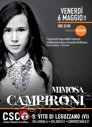 Mimosa Campironi // Voci di Donna