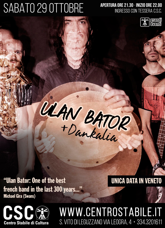 Ulan Bator (Fr) + Dankalia (It)