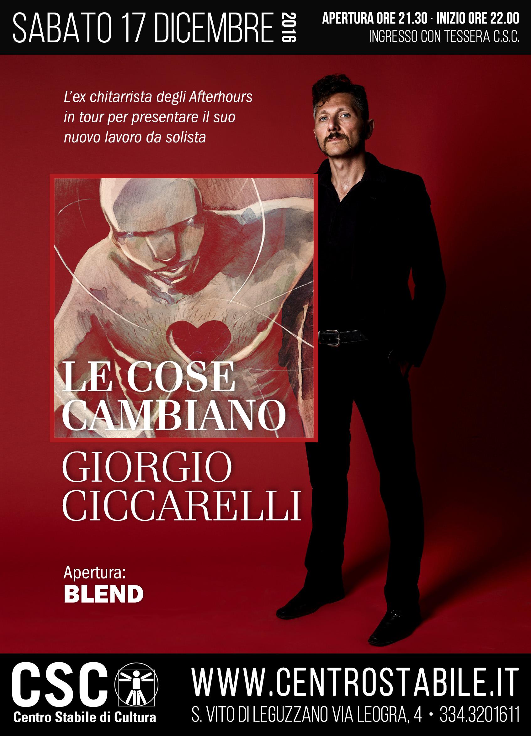 Giorgio Ciccarelli + Blend