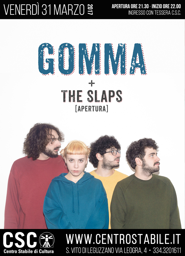 Gomma + The Slaps