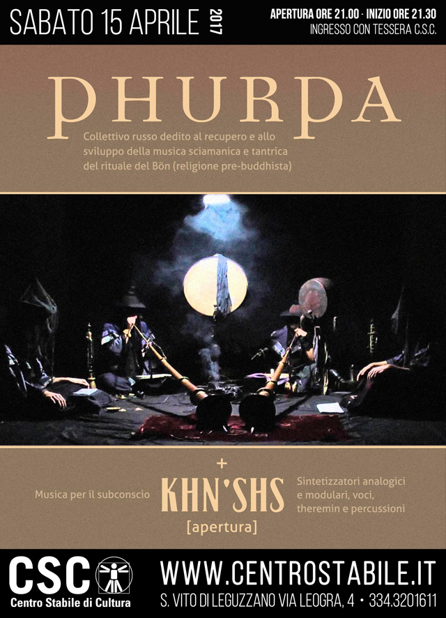 Phurpa (RU) + Khn'shs (IT)