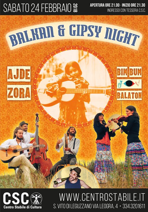 Balkan & Gipsy Night – Ajde Zora + Bim Bum Balaton DJ Set
