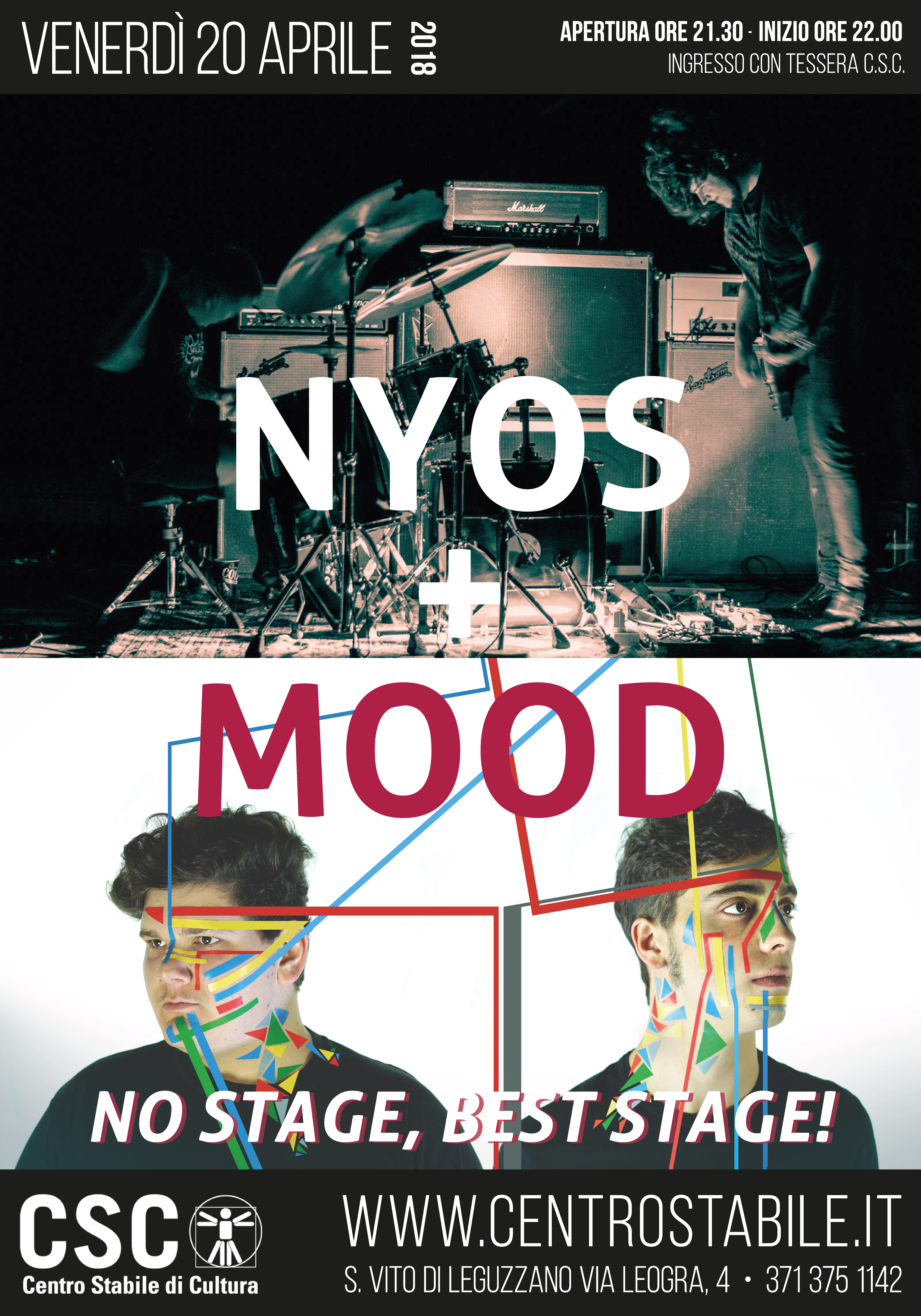 oFF Stage! Nyos [fin] + Mood [ita]