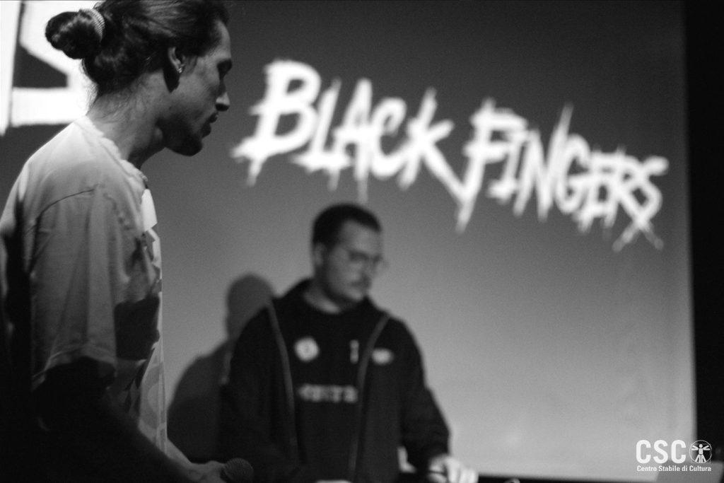 black fingers live