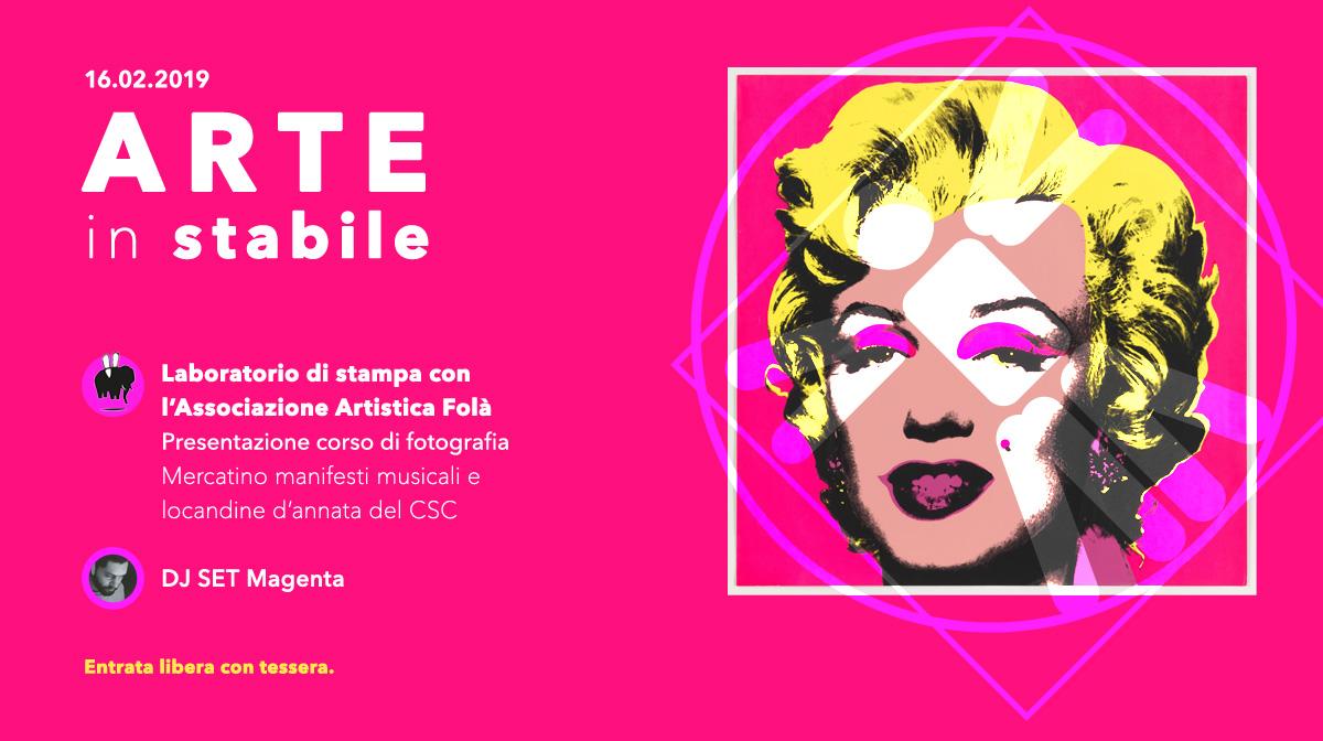 Arte inStabile – DJ SET by MAGENTA