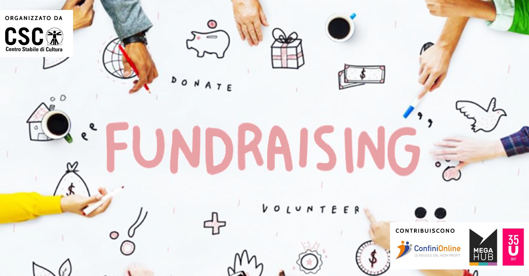ANNULLATO / Corso Il Fundraising nel territorio per le piccole e medie organizzazioni