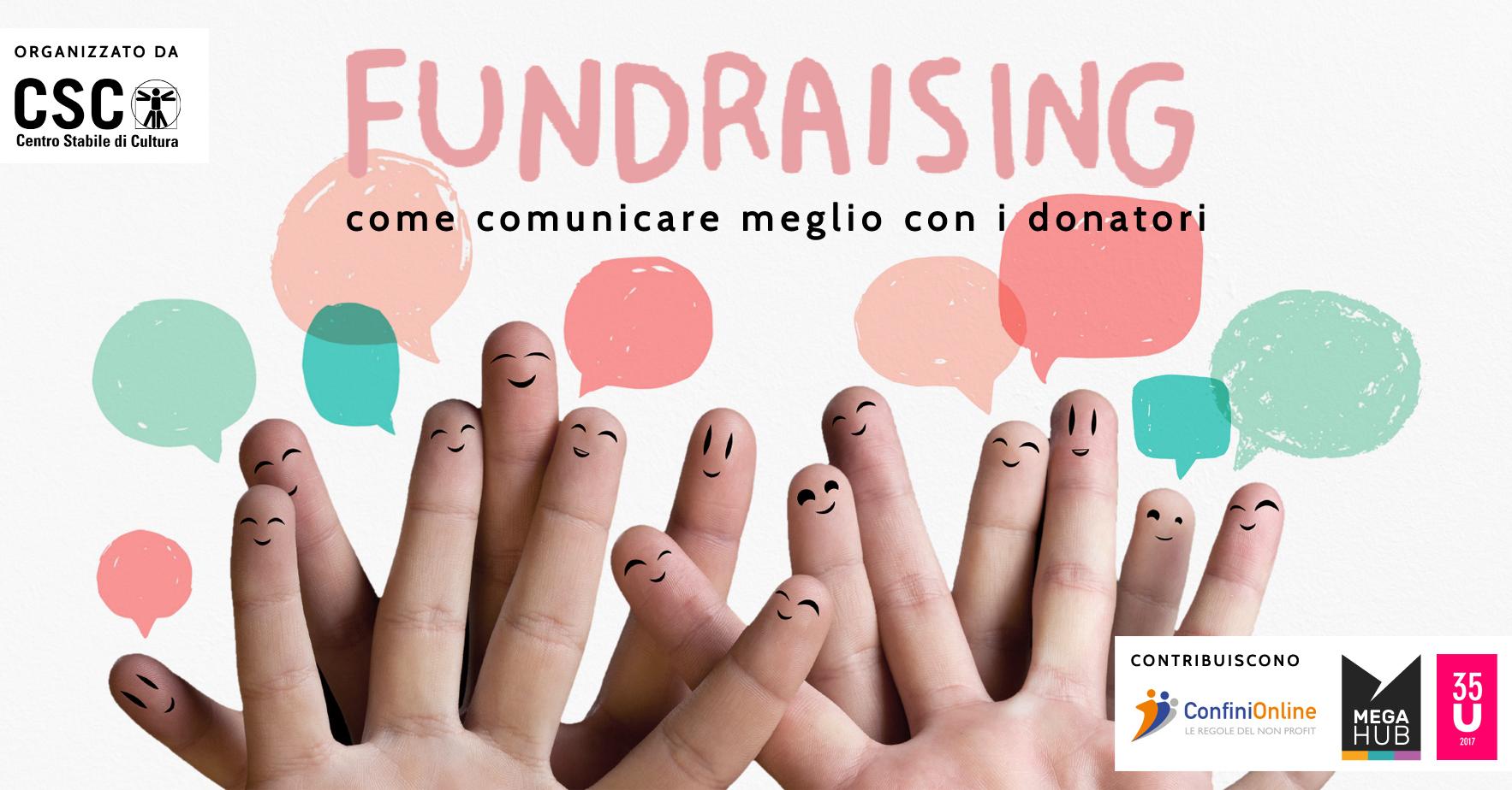 """ANNULLATO / Corso """"Come comunicare meglio con i donatori"""""""