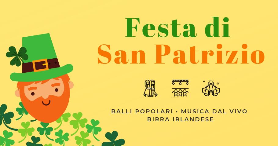 Festa di San Patrizio – danze irlandesi  e Goloka Folk Project live